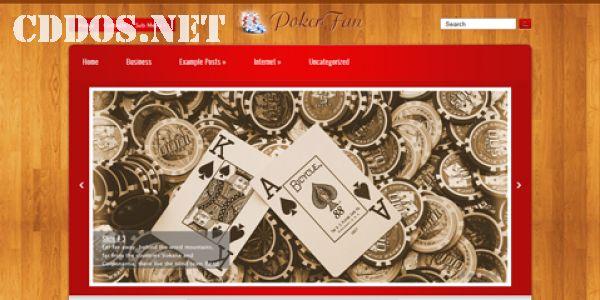 Poker Fan - Theme WordPress miễn phí