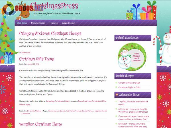 christmaspress-theme