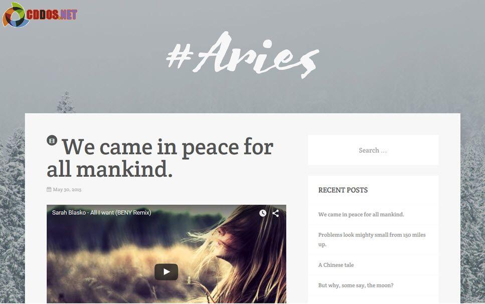 aries-theme