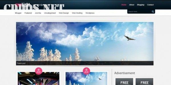 Sun Light - Theme WordPress miễn phí