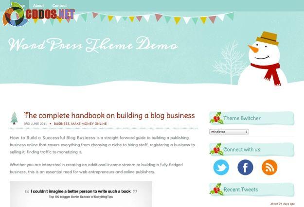 Mistletoe WordPress Theme