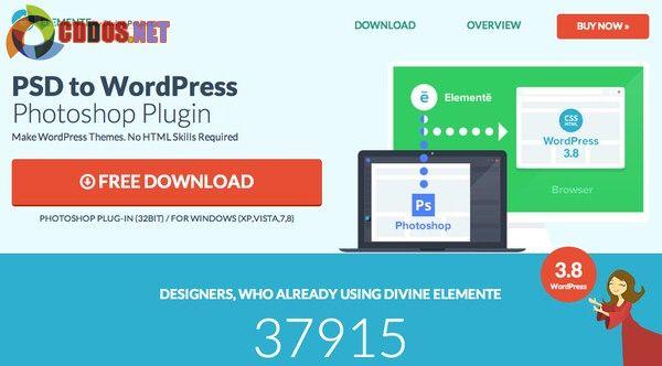 Divine Project là công cụ chuyển file PSD sang theme WordPress