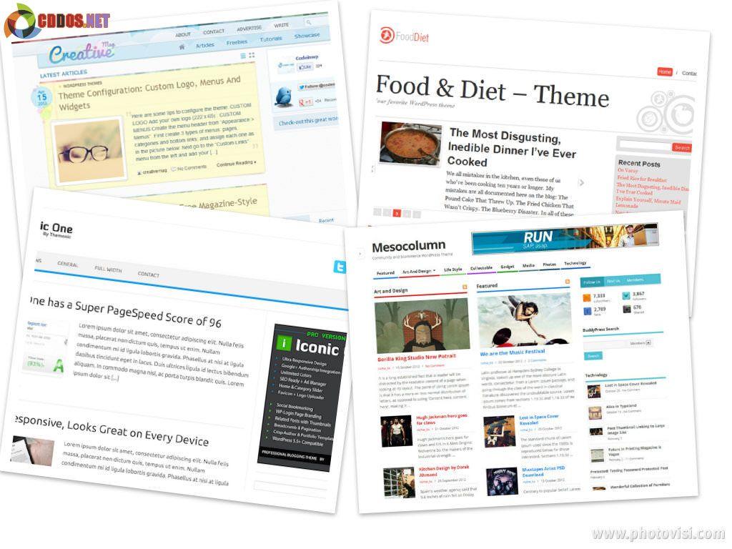 Theme WordPress miễn phí cực đẹp tháng 8
