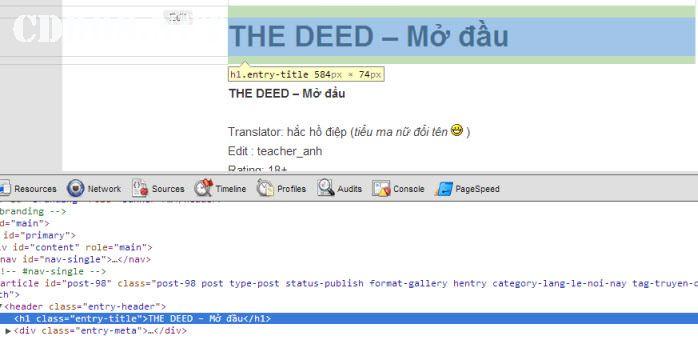 Tìm class trong thuộc tính HTML