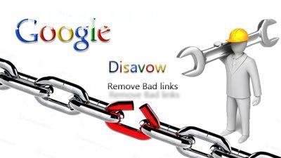Loại bỏ backlink chất lượng với Disavow Links