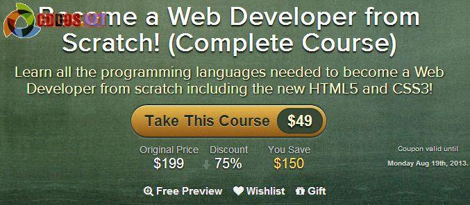 Học trở thành chuyên gia Phát triển web