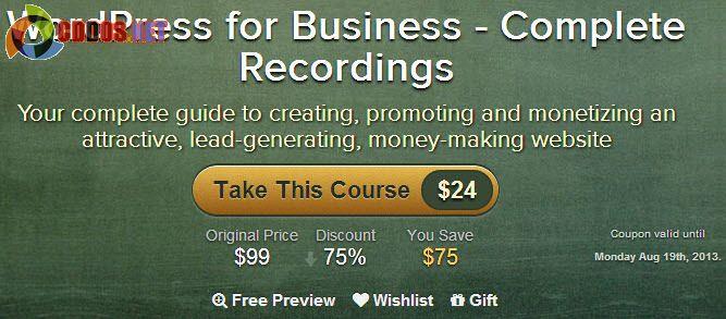 Khóa học làm website WordPress cho doanh nghiệp