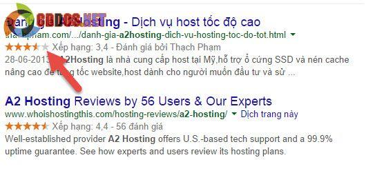 Hỗ trợ hiển thị Google Rich Snippet