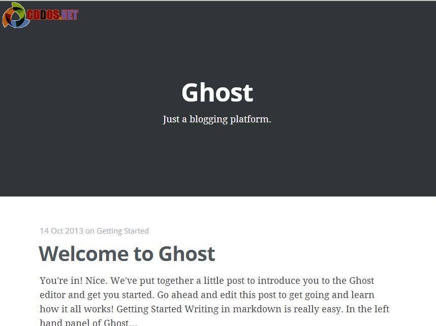 Cài đặt Ghost trên DigitalOcean