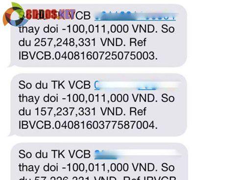 500 trieu dong cua khach hang bay khoi the ATM Vietcombank hinh anh 1