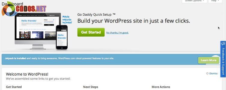Các tính năng tích hợp sẵn vào WordPress của dịch vụ