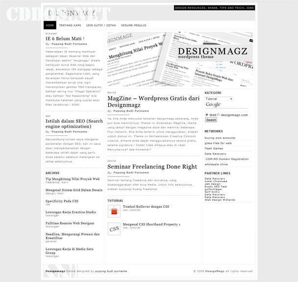 magzine-typography-theme