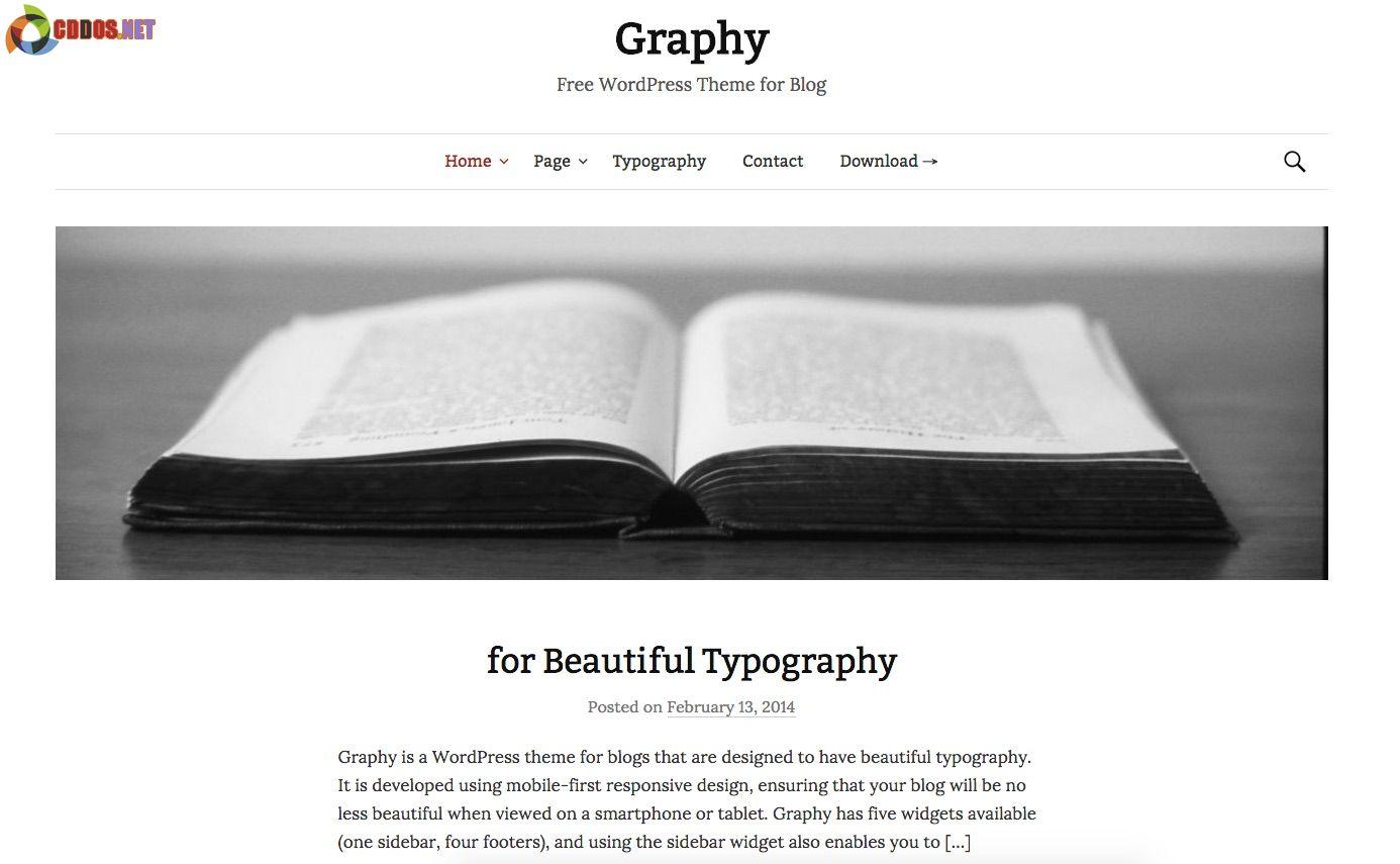 Graphy-Theme