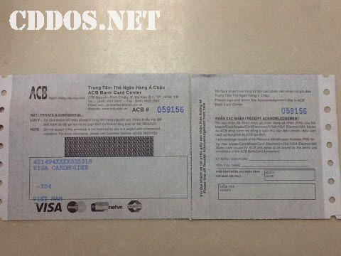 Làm thẻ Visa Prepaid