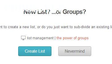 Cách tạo Email List