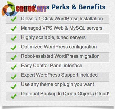 ưu điểm dịch vụ DreamPress