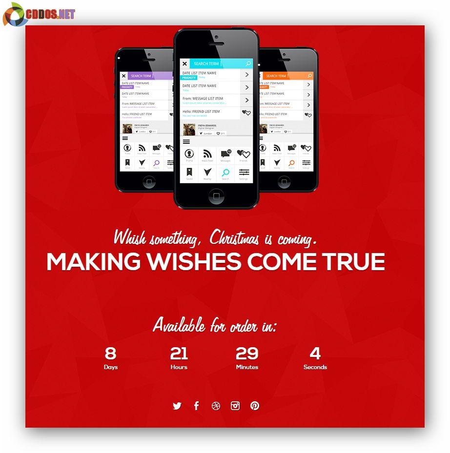 christmas-html-landingpage