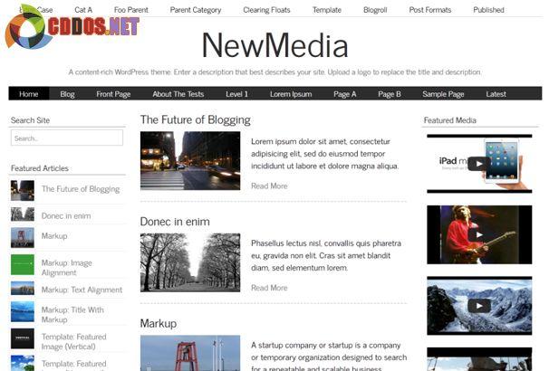 newmedia-theme