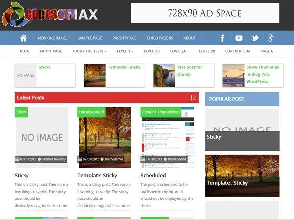 Thay đổi theme WordPress