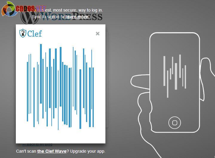 Đăng nhập WordPress an toàn với Clef