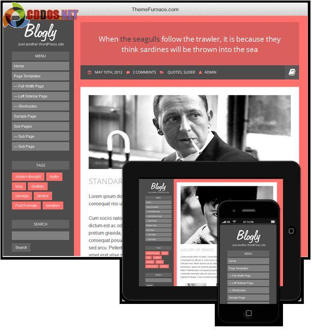 Theme Blogly Lite cho blog cá nhân