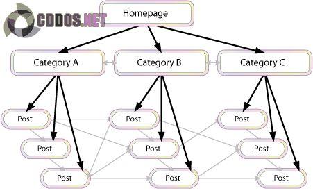 Mô hình Internal Links cơ bản