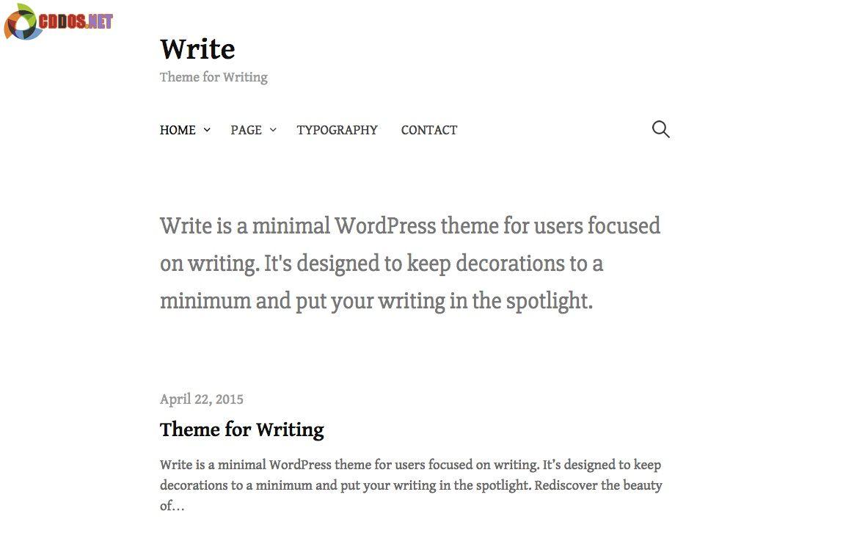 Write-Themee