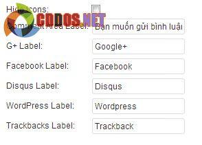 Cài đặt Google+ Comment cho WordPress