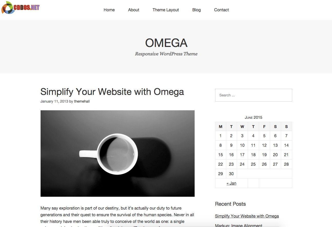 Omega-Theme