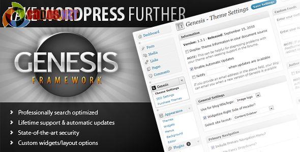 Genesis Framework - Một framework theme phổ biến