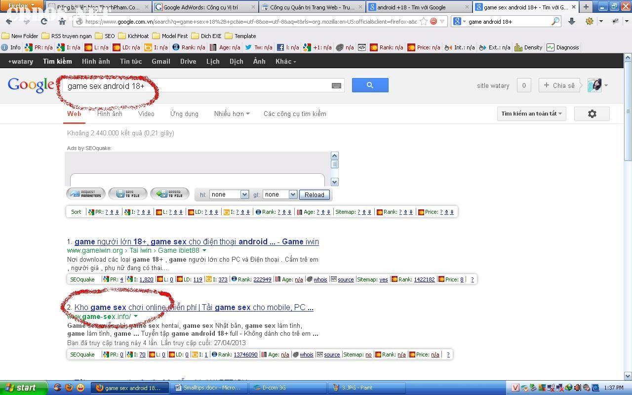 Cách SEO từ khóa với Google Site