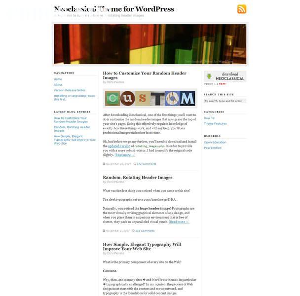 Typography Theme miễn phí cho WordPress