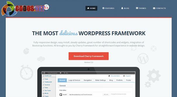 Framework miễn phí để tạo website doanh nghiệp