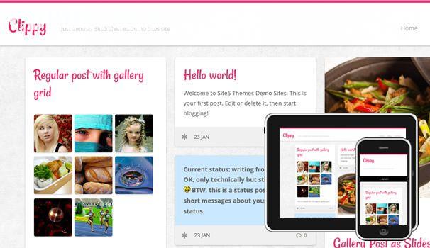 Tải theme WordPress miễn phí giống Pinterest
