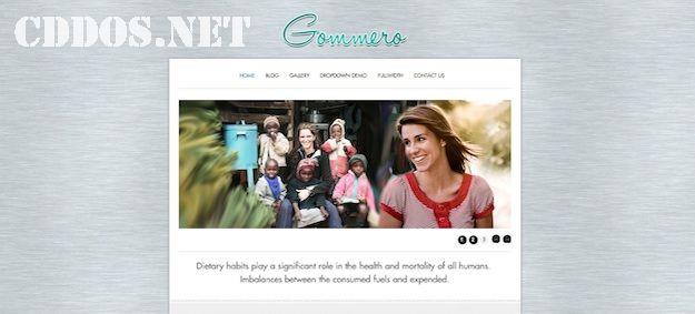 Goomero - Theme WordPress phong cách cổ điển