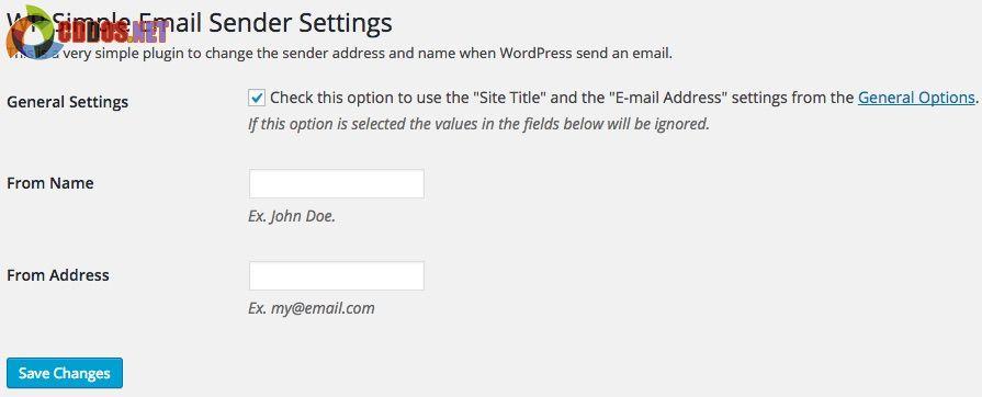 WP_Simple_Email_Sender_Settings