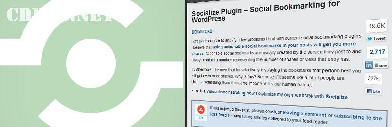 Chèn nút mạng xã hội vào giữa bài viết