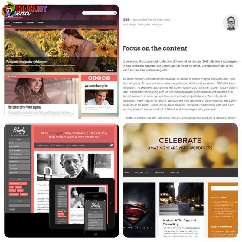 20 theme miễn phí cho blog cá nhân