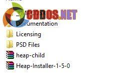 Các thư mục và file kèm theo khi giải nén một theme từ ThemeForest