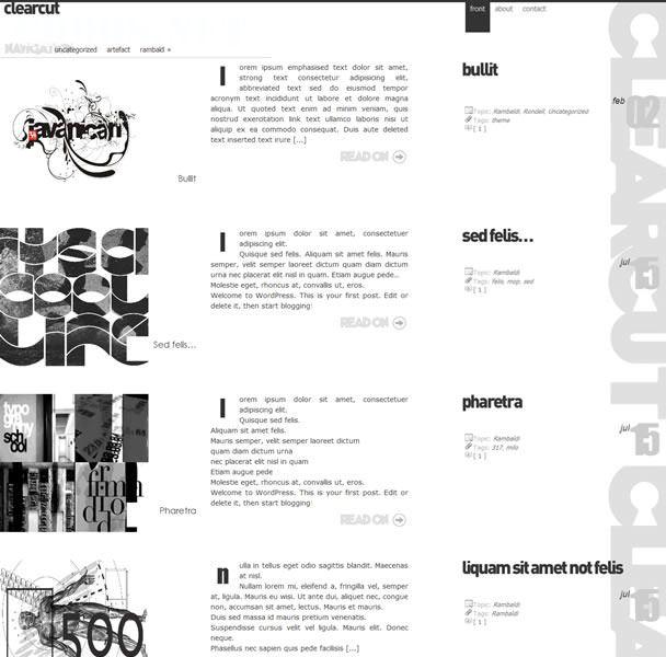 Typography Theme đẹp cho WordPress