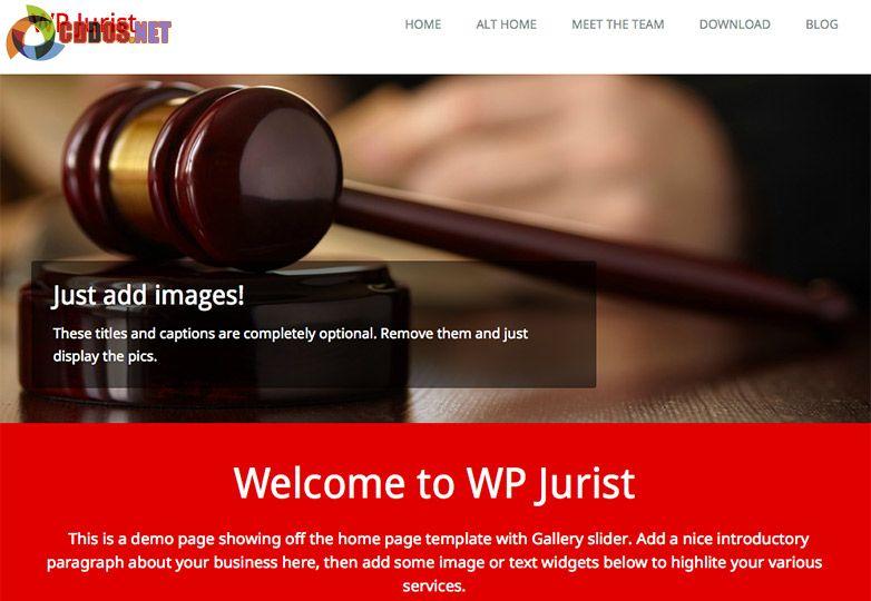 WP Jurist theme