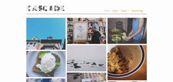 Themes miễn phí dành cho blog ảnh