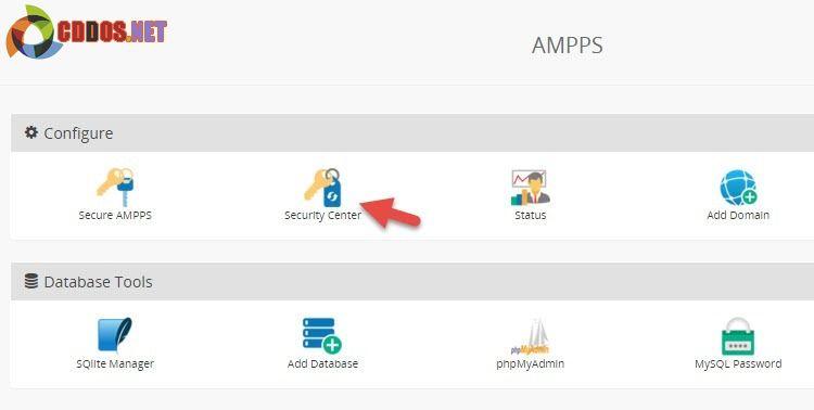 ampps-change-root-mysql-pw