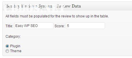 Nhập thông tin sản phẩm cần review cho Benday Reviews
