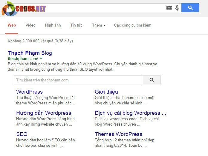 onetidc-google-searchbox-sitelink