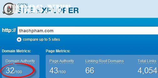 Kiem tra domain authority