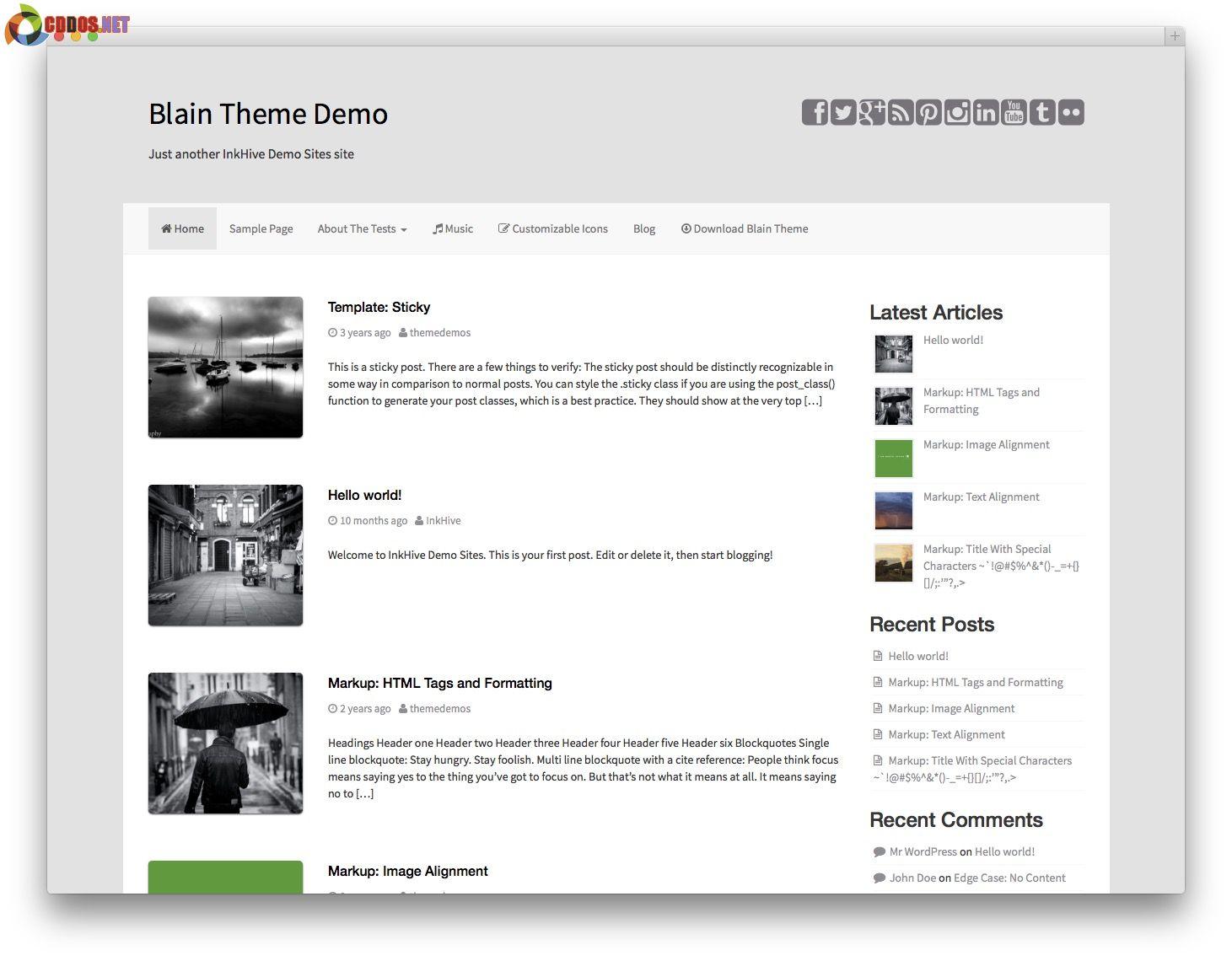 blain-bootstrap-theme