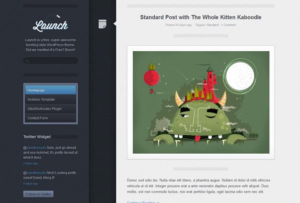 Launch - Theme đẹp cho blog cá nhân