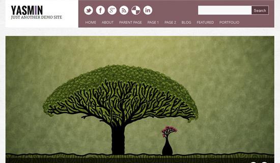 Theme Portfolio đẹp miễn phí dành cho WordPress
