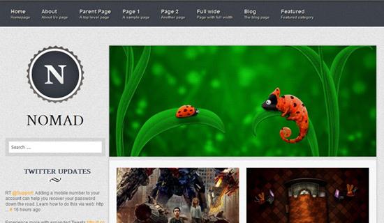 Theme blog cá nhân miễn phí mang phong cách thanh lịch